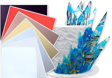 edible flexfrost fabric sheets